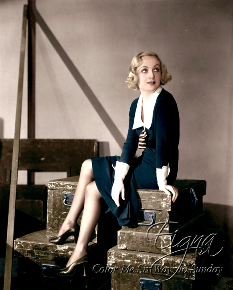 Carole Lombard in No Man of Her Own 1932 by BooBooGBs