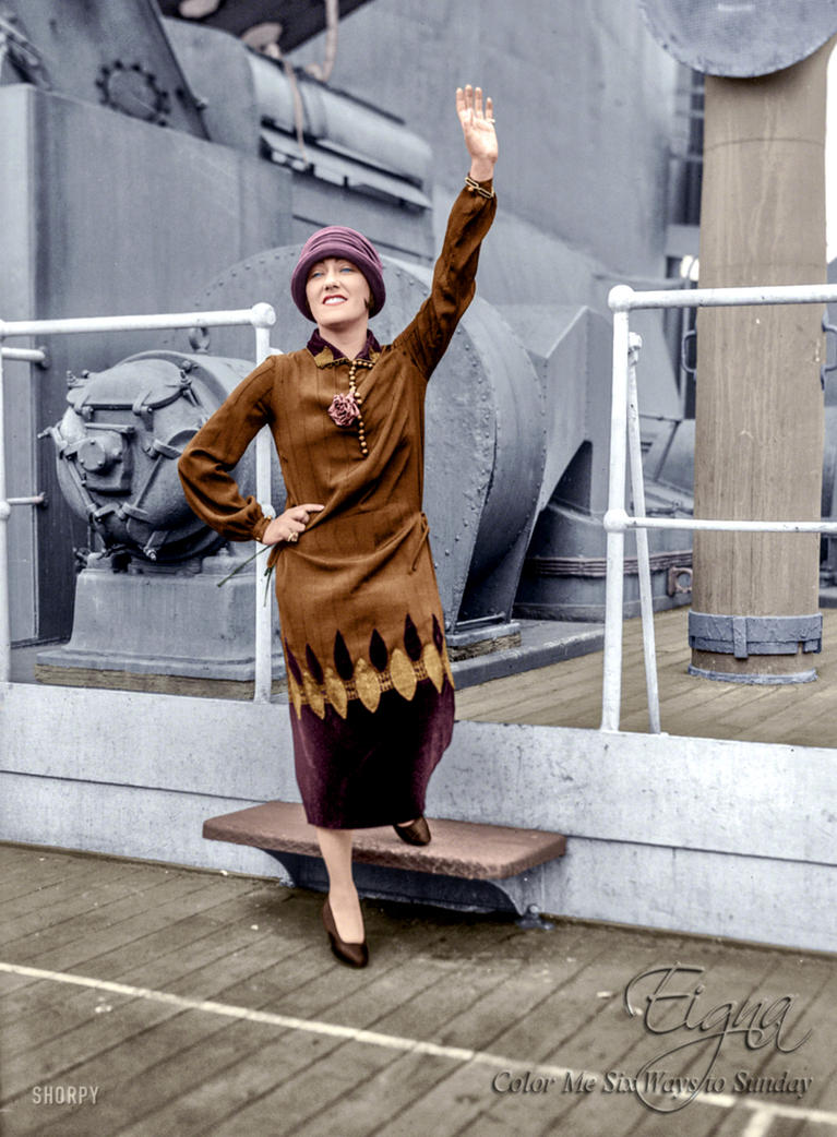 Gloria Swanson 1924 by BooBooGBs
