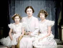 Queen Mum and Girls