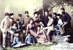 Royal Family Group Portrait 1882