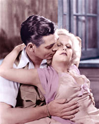 Clark Gable and Jean Harlow in Red Dust (1932) by BooBooGBs