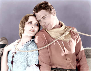 Mary Brian and Richard Arlen in The Light of West by BooBooGBs