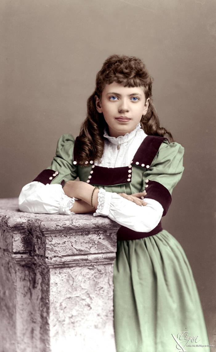 Miss Drew 1891 by BooBooGBs