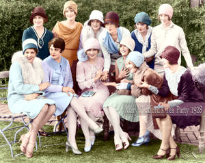 Mary Pickford's Tea Party 1928
