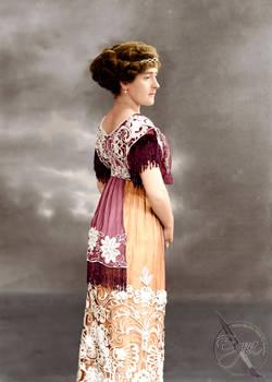 Helga Ekberg  1912