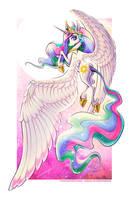 Princess Celestia by JessicaVernell