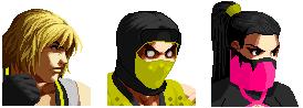 Mortal Kombat SNK Style Part 2 by iceangelmkx