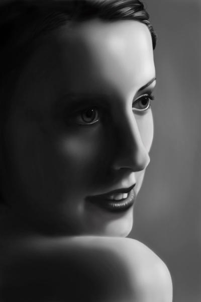 Portrait Excercise by imix9
