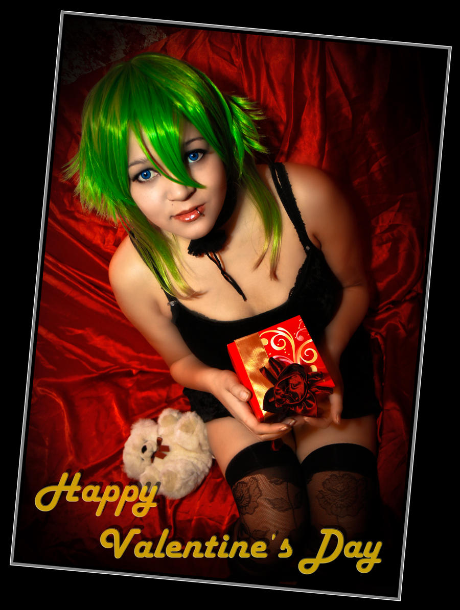 Gumi Happy Valentines Day by VisualGoth