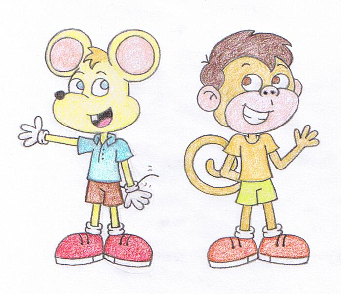 Image result for mouse and monkey