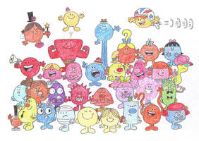 The Mr. Men Show Characters by TheAwesomeWorld