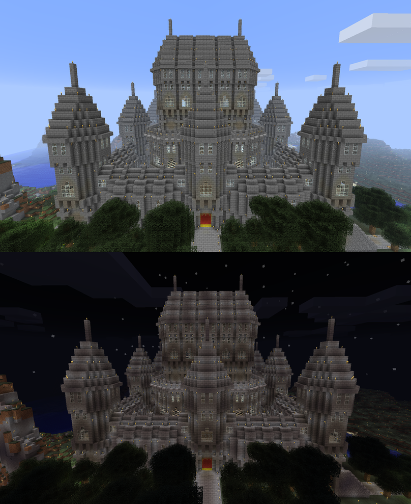 how to build a manor in minecraft