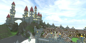 Castle and Town by jelmobu