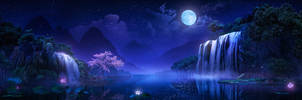 Moonlit by zhanhui