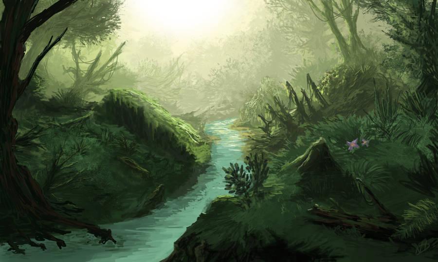 Jungle River by NielsHoyle-Dodson