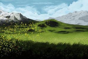 Windy Field by NielsHoyle-Dodson