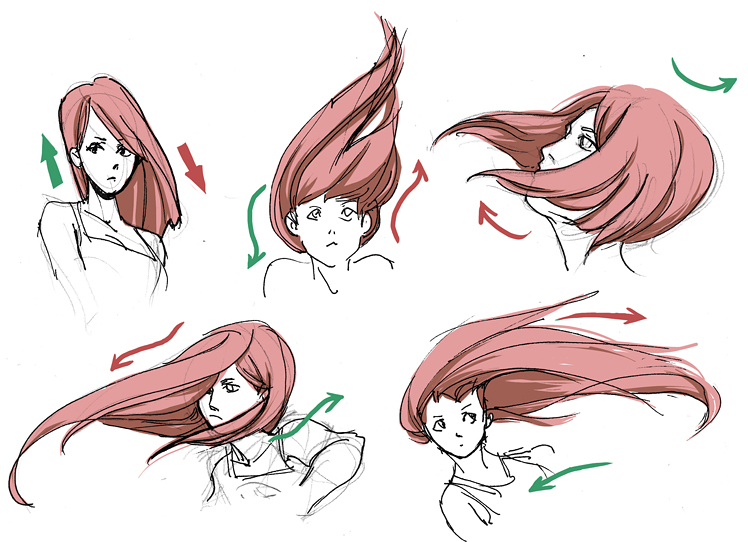 Hair Dynamics By Ninjin Nezumi On Deviantart