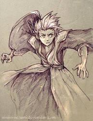 Hitsugaya by Ninjin-nezumi