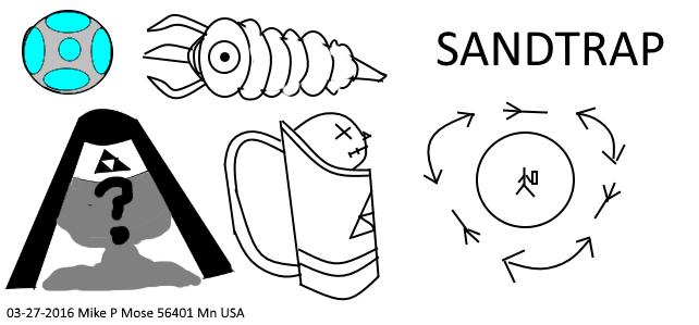 miniboss idea Zelda Royal nurse / Midwife sandTrap by qspet
