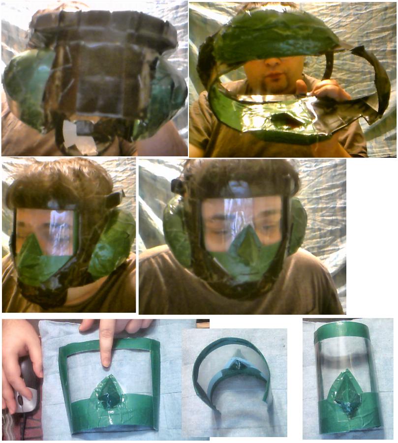 Green Helmet by qspet