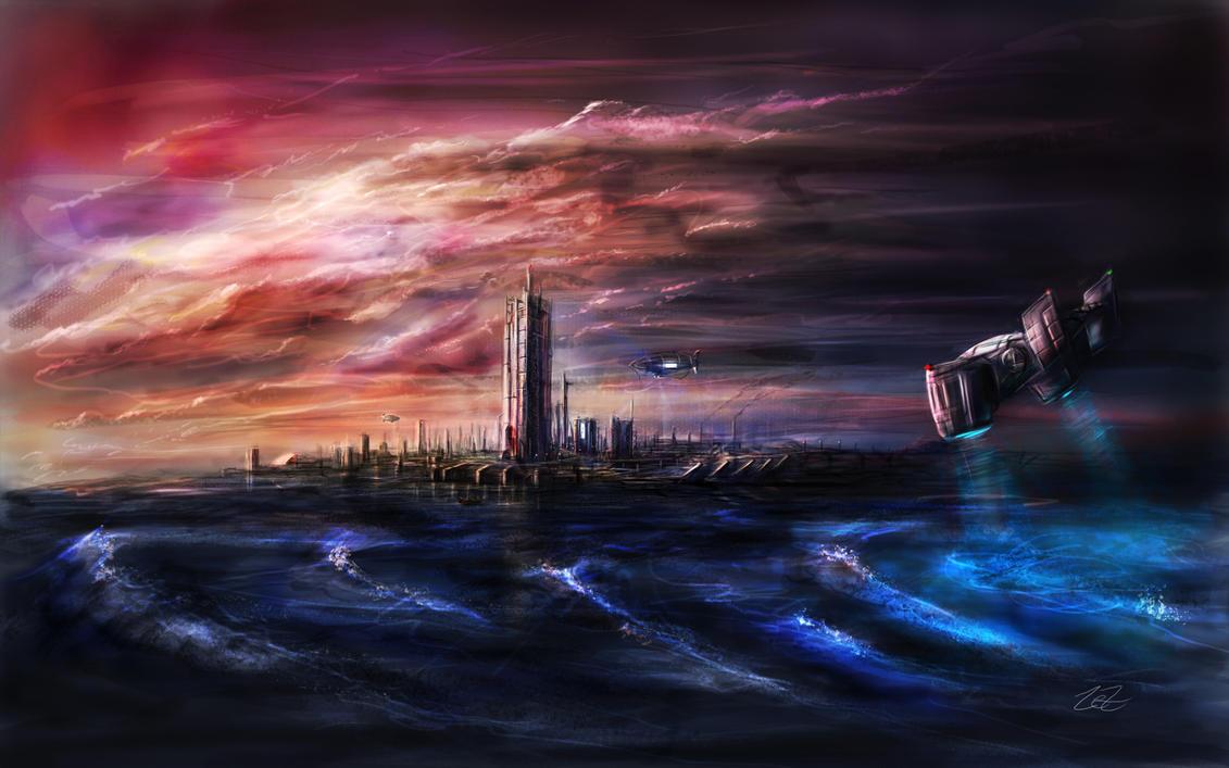 Future-City Speedy by Brehnman