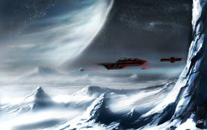 Ice-Moon by Brehnman