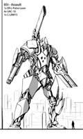 Mech-Prototype #2 by Brehnman