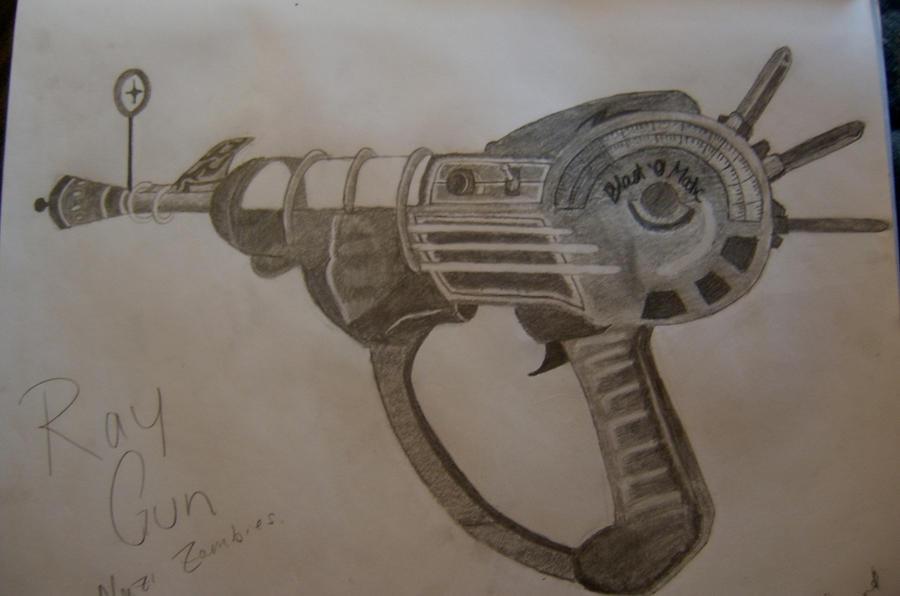 Ray gun by creativeexistence
