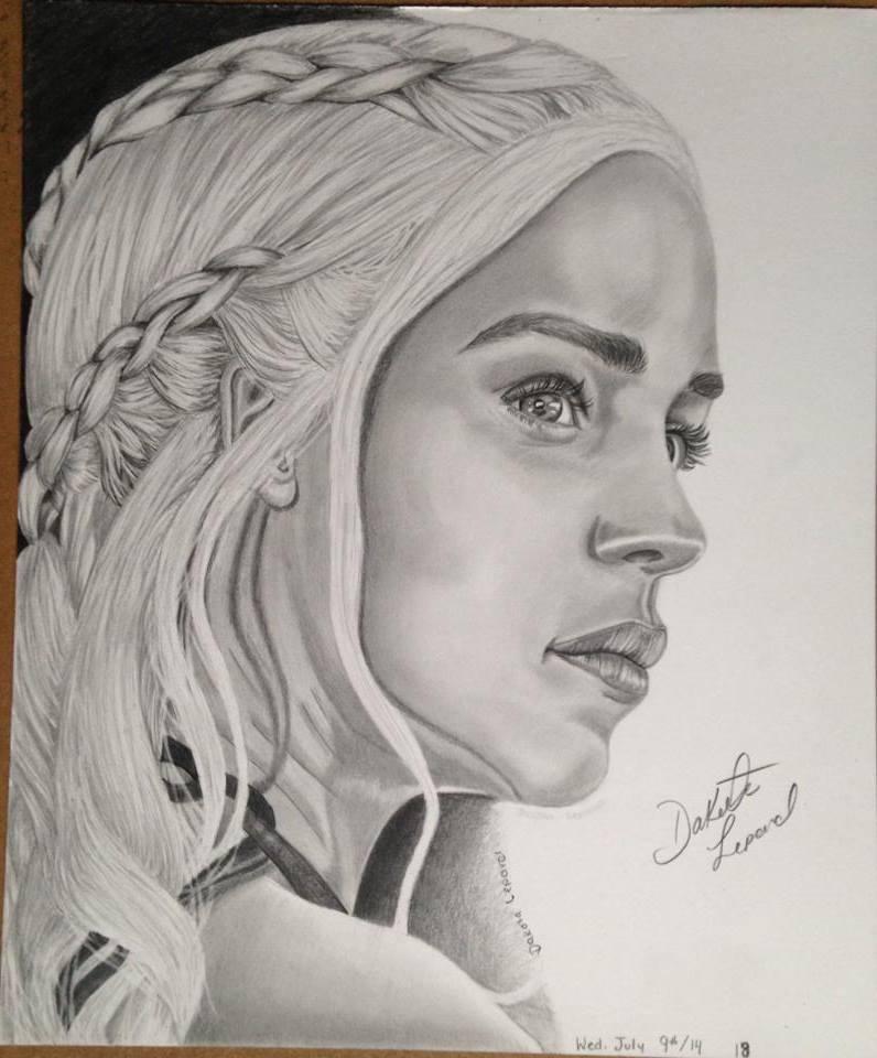 Daenerys Targaryen- Mother of Dragons by CreativeExistence