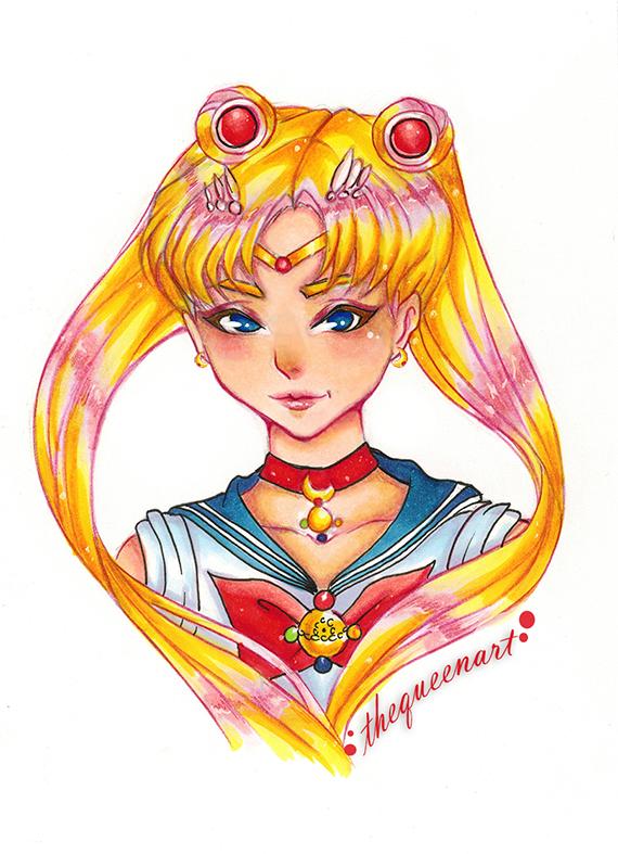 Sailor Moon - Usagi by GR-the-queen
