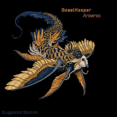 BK Arowroc BeastSuggestion by RavensMourn