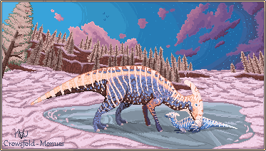 Snowy Paras - Pixel