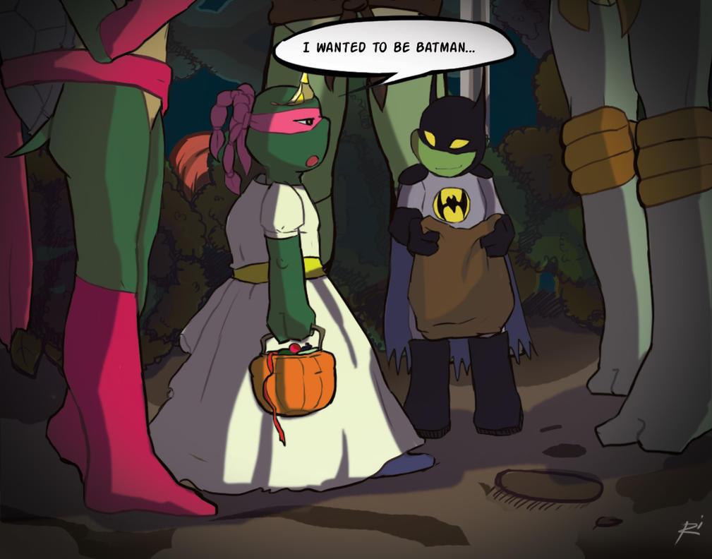 First Halloween by Netrorev on DeviantArt