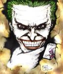 Joker self adoration by jjbalabis28