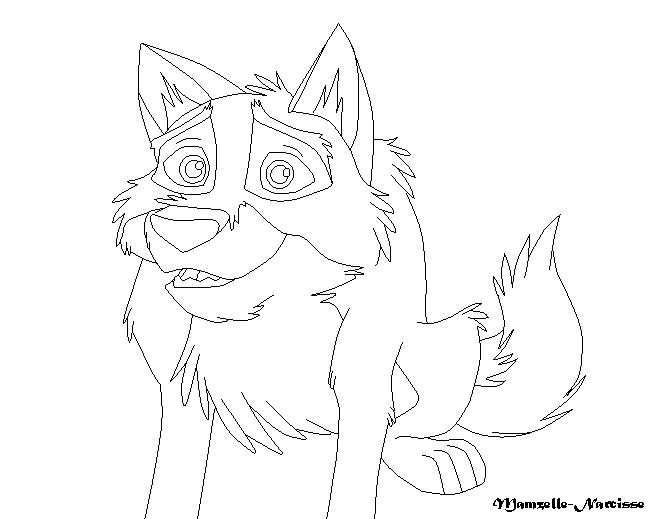 balto howling coloring pages - photo #2