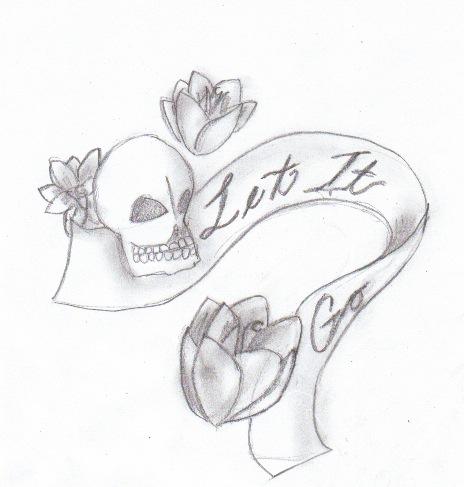 Skulls And Roses By Dumpling14