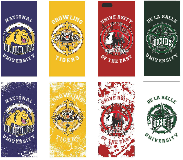 UAAP IPHONE COVER DESIGNS By Thesoc89