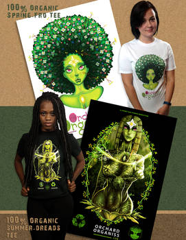 Spring-Fro-Summer-Dreads-Tee Ad Design