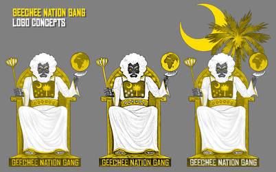 GEECHEE NATION GANG - THRONE LOGO