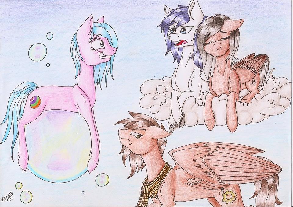 PC for Fluka: Bubbles! by LostTheKiller