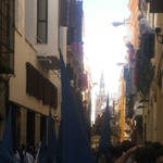 Far away, the Giralda