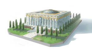 Aries Temple (Updated) by Asashi-Kami