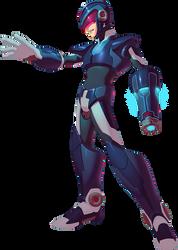 New Mega ManX colors by Asashi-Kami