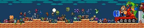 Megaman VS. The World by K-Serenade