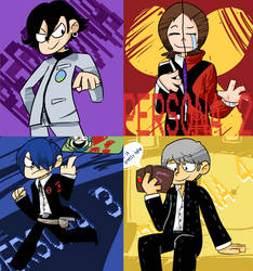 Persona Protagonists