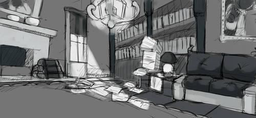 Room by MareckiRAWR