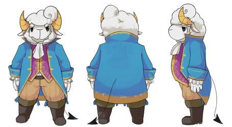 Milton character sheet by MareckiRAWR