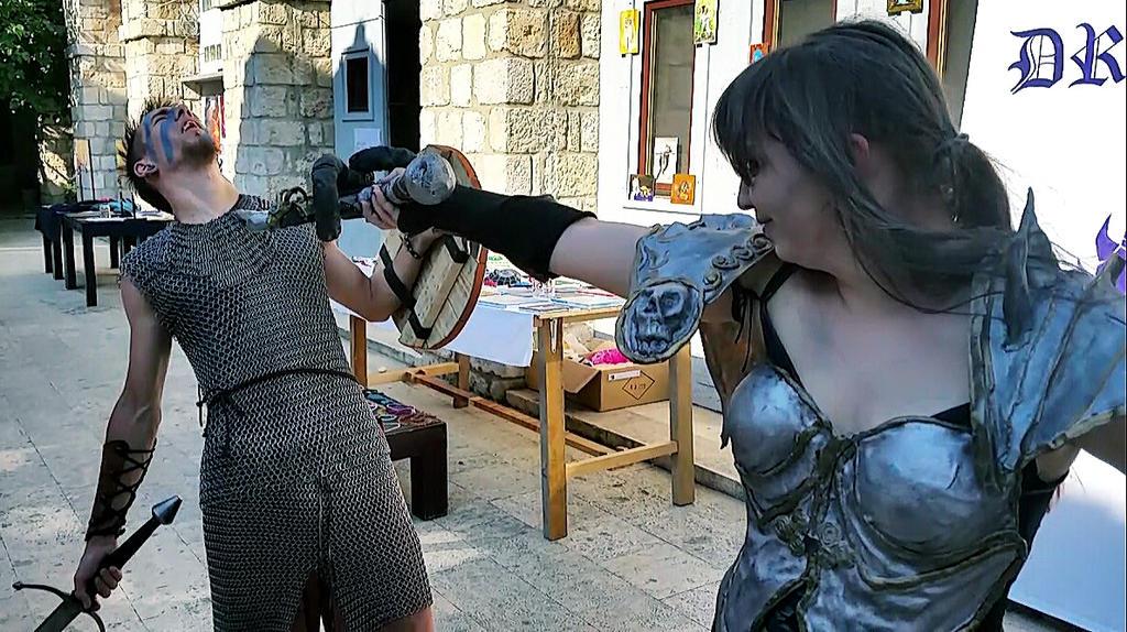 DraCon Fight 3. by OrsatUrsusActos