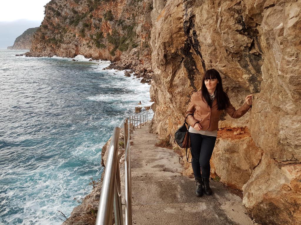 Girl at Konavle Rocks :) by OrsatUrsusActos