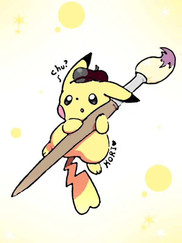 painter pikachu